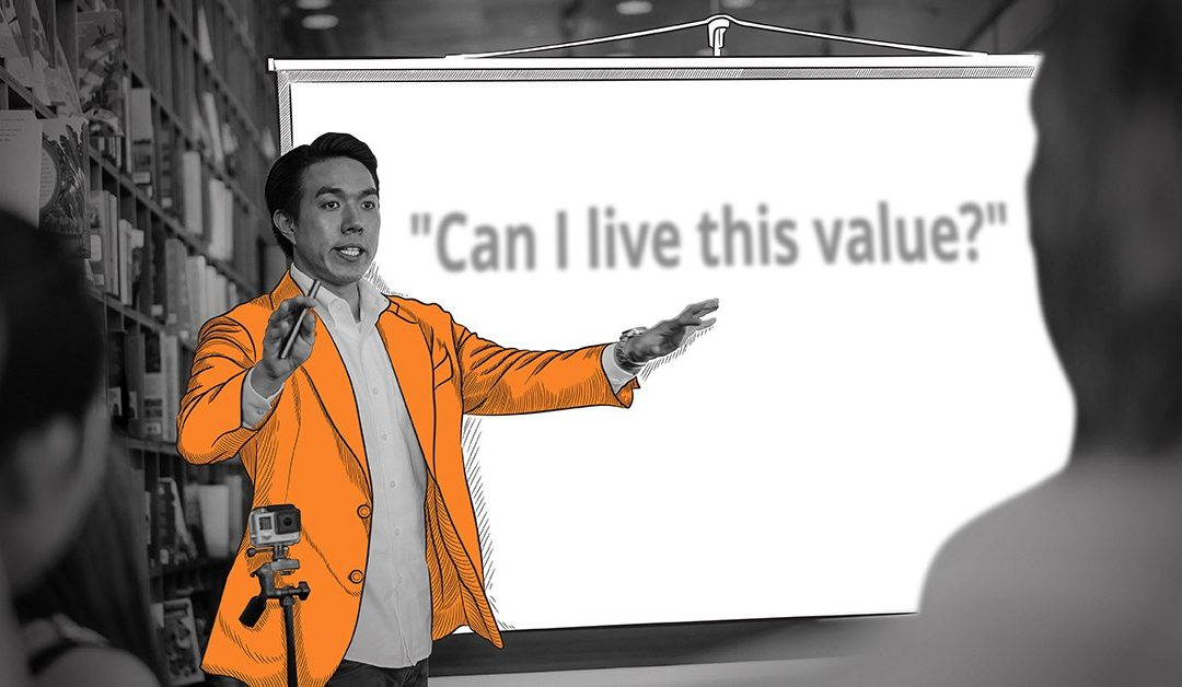 Roll Out EOS With a Core Values Speech